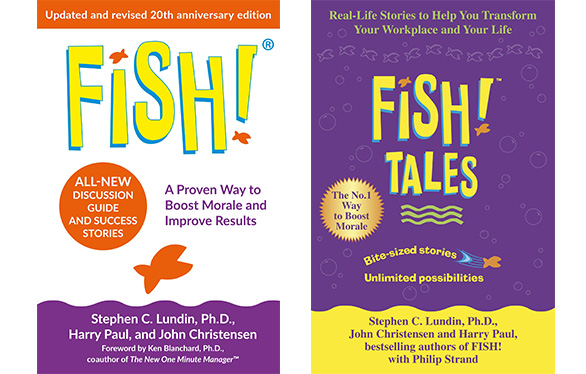 Fish! book covers